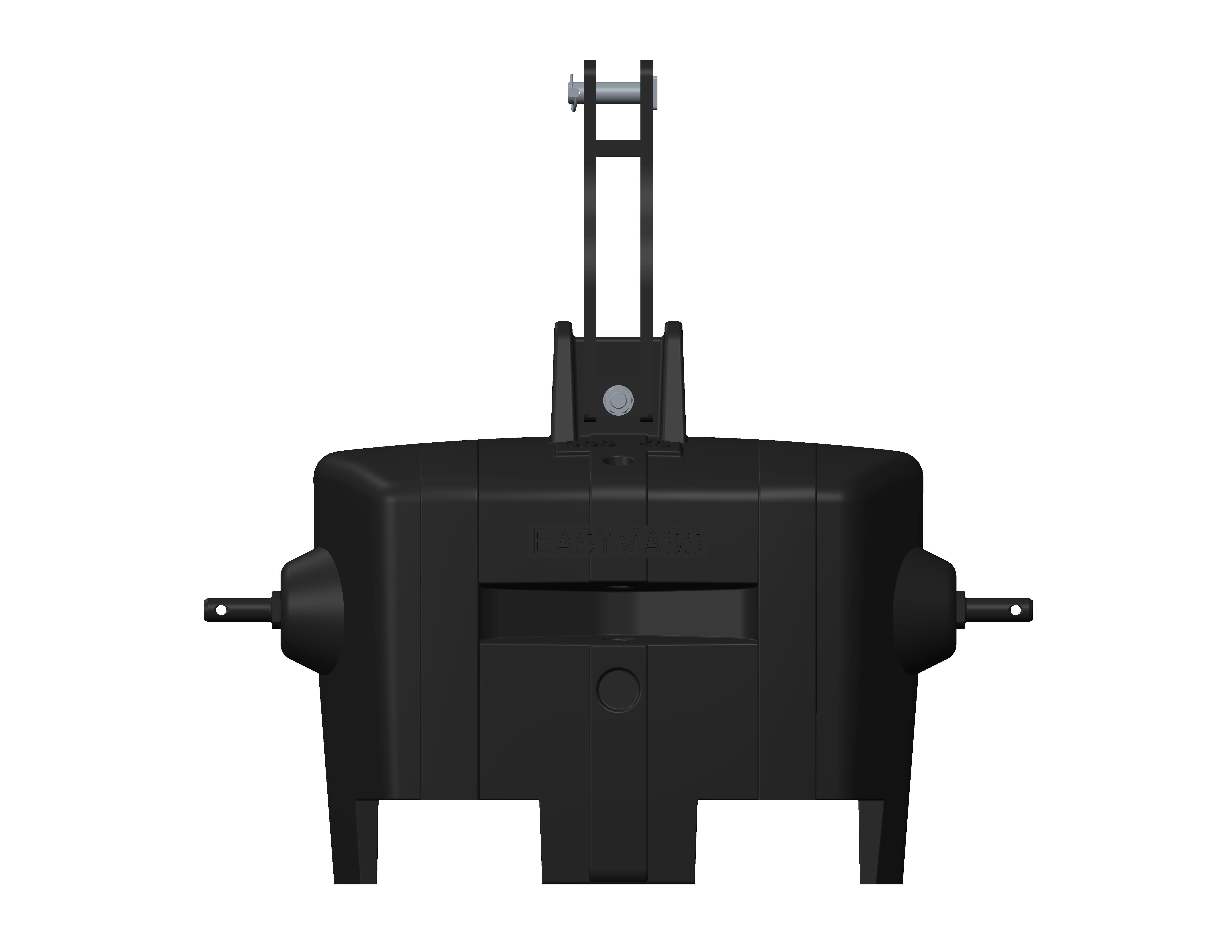 Easymass masse monobloc 900KG - coloris noir